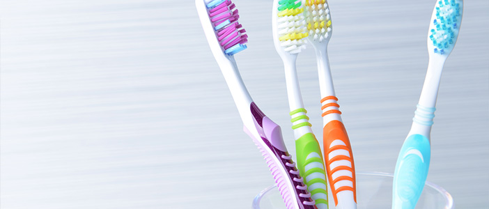 Choosing the right toothbrush.