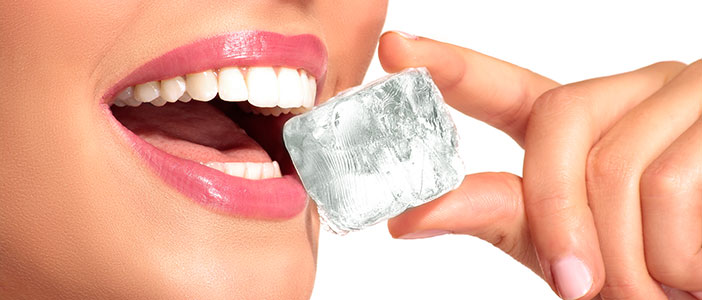19 Habits That Wreck Your Teeth - Chewing on Ice - Biermann Orthodontics